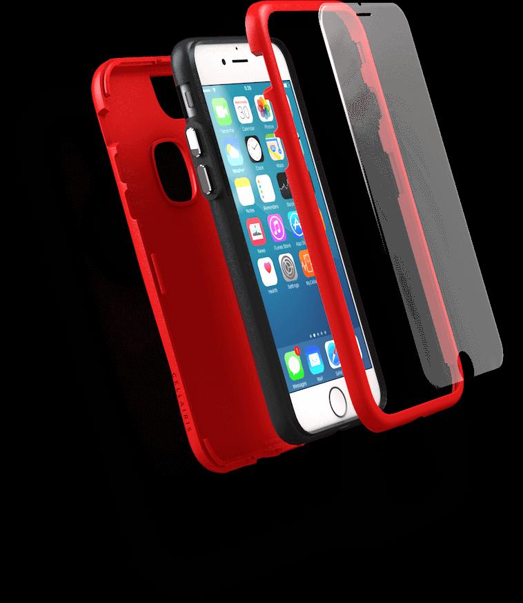 The Case & Screen Protector